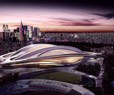 Zaha Hadid, New National Stadium - Tokio Olympische Sommerspiele 2020