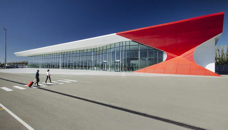 UNStudio, Kutaisi International Airport, Georgia