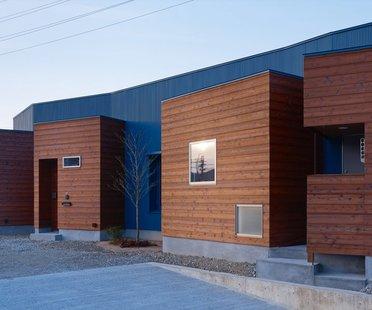 Fujiwarramuro Architects Wohnhaus in Sayo
