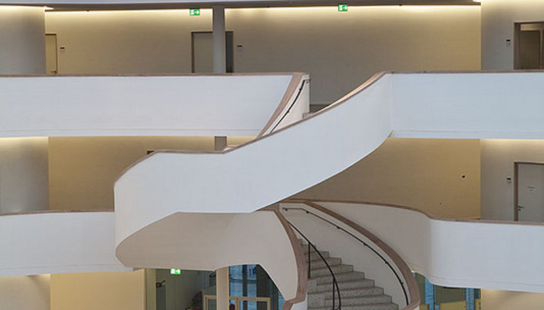 hascher jehle architektur neues gymnasium bochum floornature. Black Bedroom Furniture Sets. Home Design Ideas