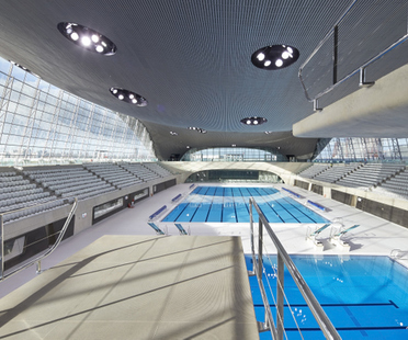 Zaha Hadid, London Aquatics Centre