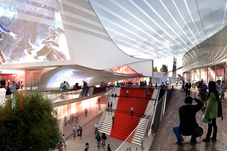 3XN Architects, IMAX DreamCenter - Shanghai