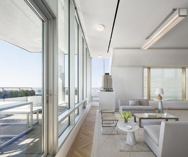 Shelton, Mindel & Associates, Interior Design 551W21 Sales Office