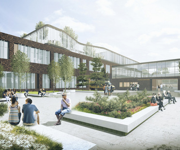 CF Møller gewinnt den Wettbewerb für den Ausbau des Vendsyssel Hospital