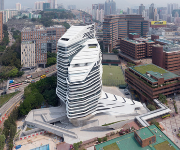 Zaha Hadid Architects, Jockey Club Innovation Tower, Hong Kong