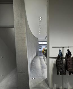 Tadao Ando in Mailand für den neuen Showroom und Flagship Store Duvetica