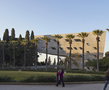 Zaha Hadid Architects Issam Fares Institute Beirut