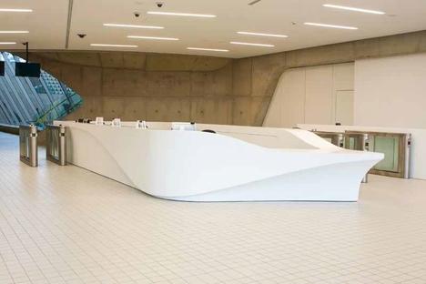 Zaha Hadid Architects London Aquatics Centre courtesy of Cutting Edge