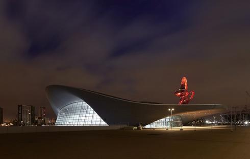 Zaha Hadid Architects neue Design-Elemente für das London Aquatics Centre