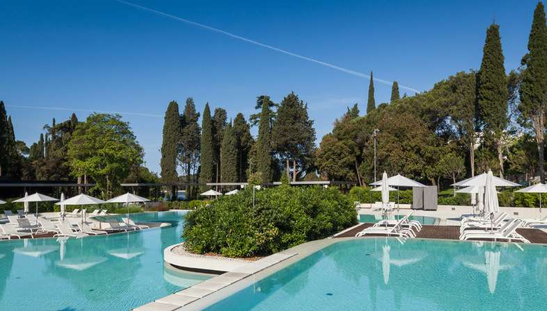 Studio 3LHD Lone Outdoor Pool im Forstpark Golden Cape Rovinj Kroatien