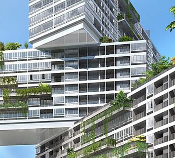 The Interlace von OMA gewinnt die erste Ausgabe des Urban Habitat Award CTBUH