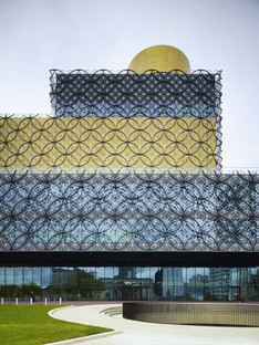 Mecanoo Library of Birmingham, these images are made by Christian Richters.