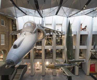 Einweihung der von Sir Norman Foster entworfenen Galerien im Imperial War Museum von London