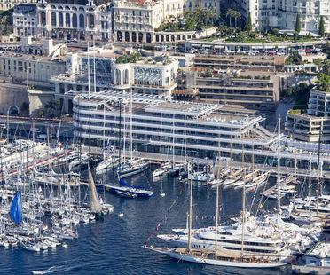 Foster+Partners Neubaueinweihung des Yacht Clubs in Monaco