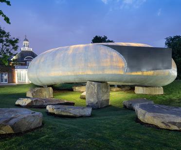 Der Serpentine Gallery Pavillon von Smiljan Radić in London