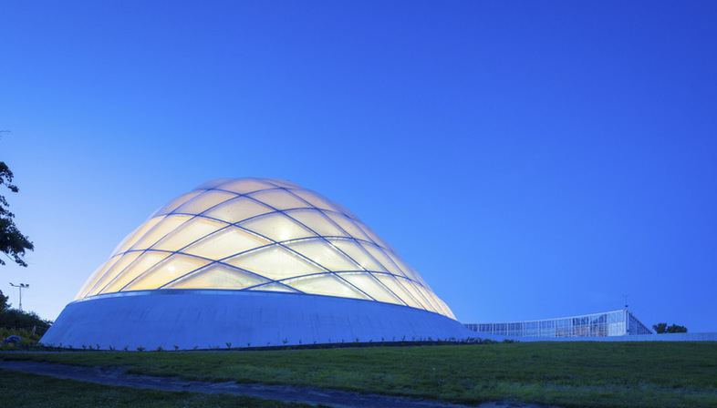 C.F. Møller Architects Greenhouse Sustainable Hothouse Aarhus