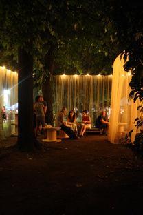 Oblò + Giulia Celentano + Alberto D'Asaro Chill-out pavilion, 2014 ph A.Benetti