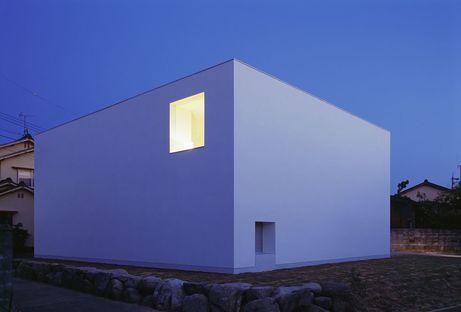 Das White Cave House von Takuro Yamamoto und der Schnee von Kanazawa
