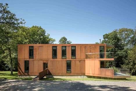 Red Bridge House von Smerin Architects in East Sussex (UK)