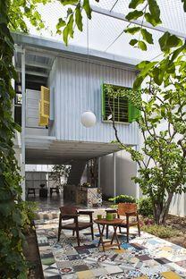 a21studĩo entwirft The Nest, ein Haus für einen Journalisten in Ho Chi Minh City