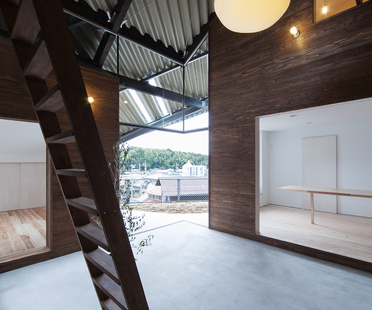 Das Rain Shelter House von y+M design in Yanogo (Japan)