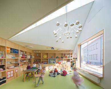 Dorte Mandrup Arkitekter gestaltet das Råå Day Care Center in Schweden