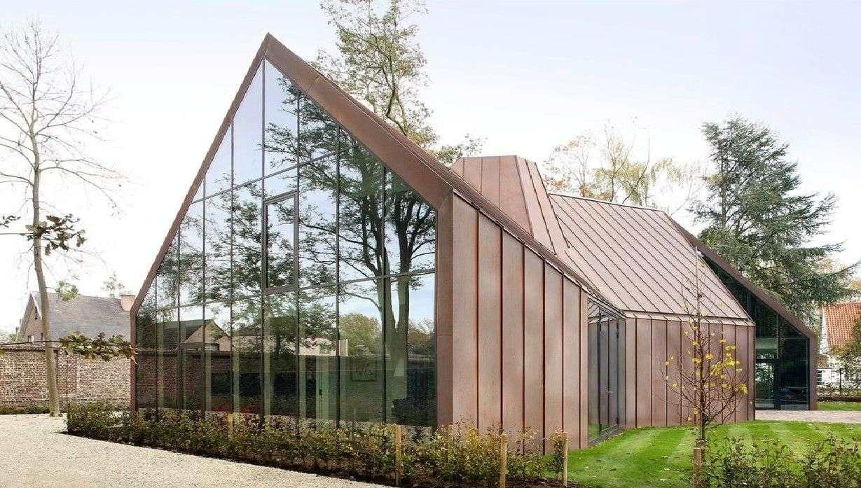 Das Haus VDV von Graux & Baeyens ein zeitgenoessischer flaemischer ...