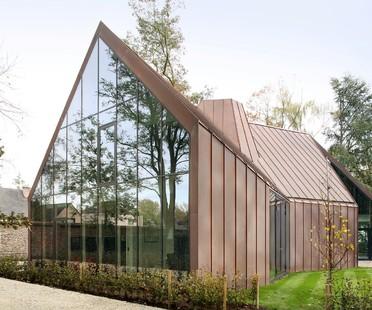 Das Haus VDV von Graux & Baeyens, ein zeitgenössischer flämischer Bauernhof