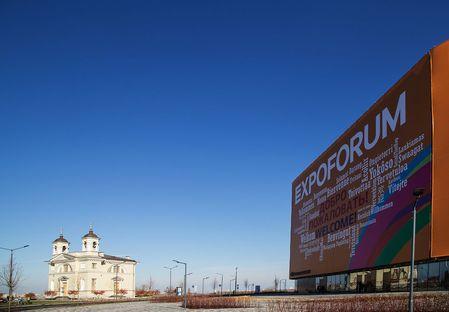 Expoforum Sankt Petersburg: Speech und Gerasimov mit GranitiFiandre