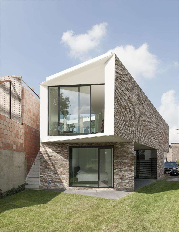 House K von Graux & Baeyens ein PatioHaus in Buggenhout Belgien ...