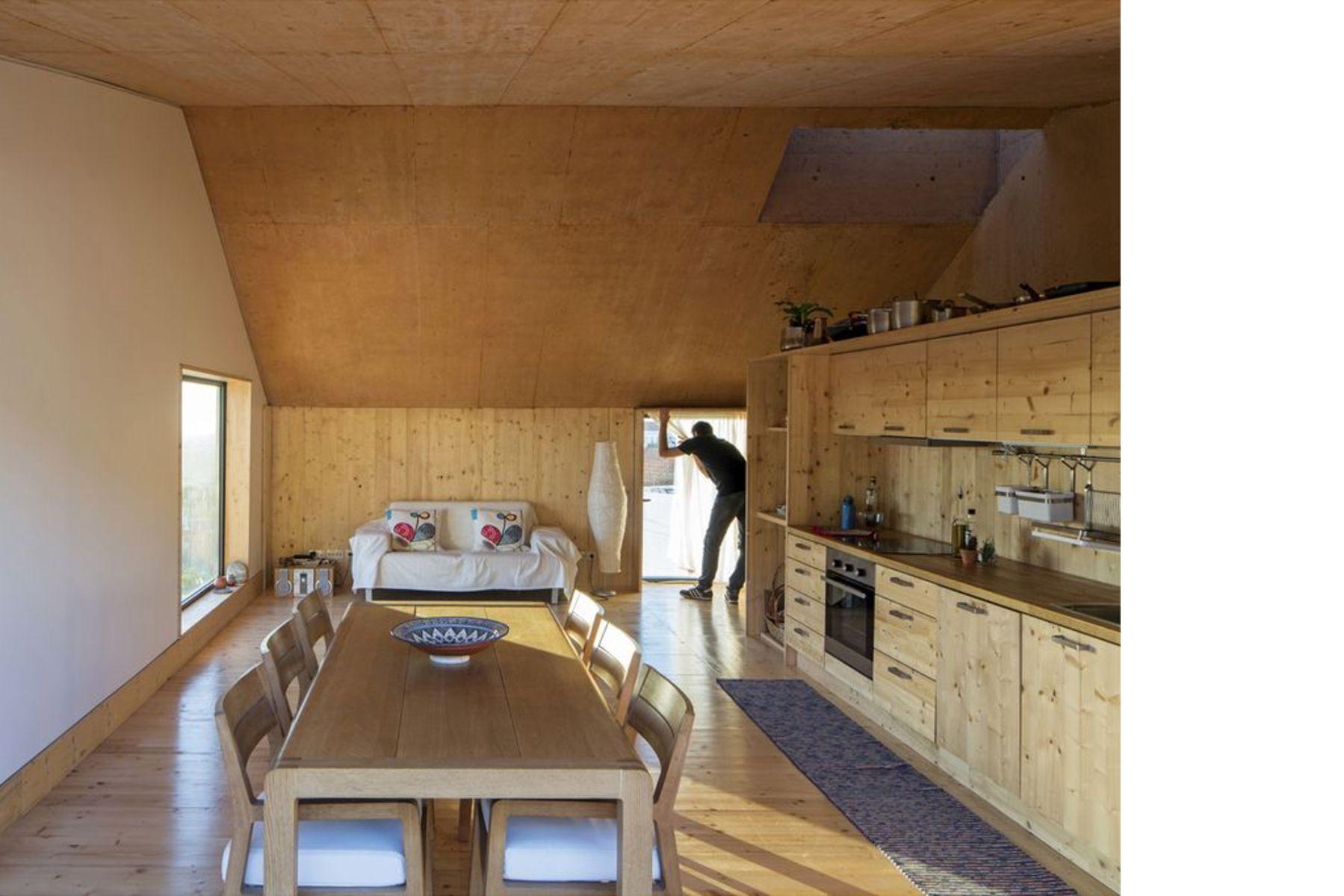 Ze Home Ein Neues Haus Von Paratelier In Palmela (Portugal)