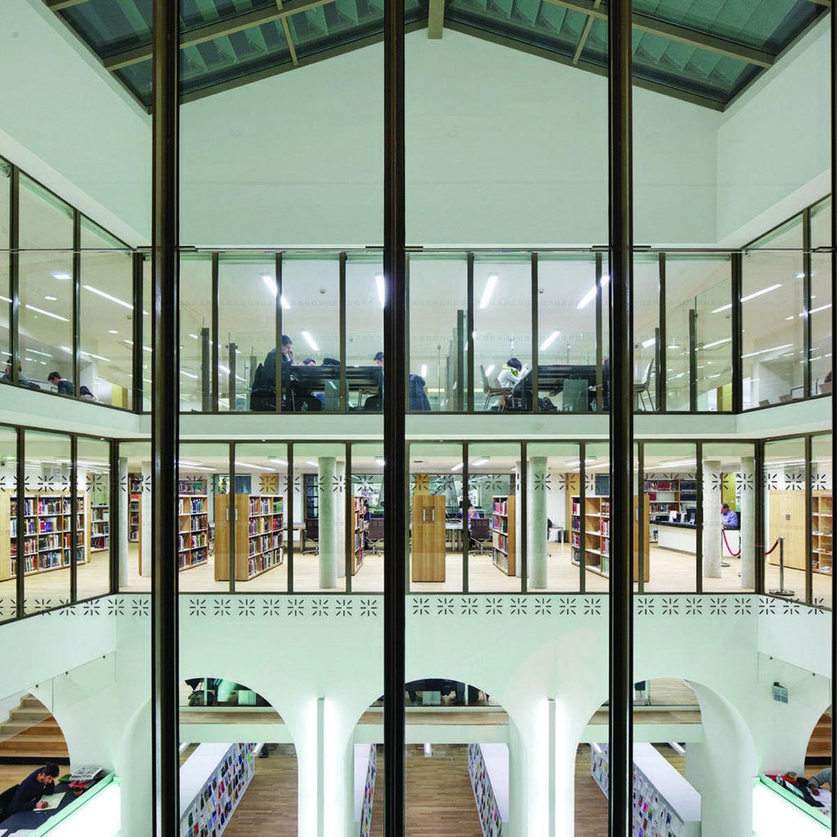 Michelin et Associés BNU National- und Universitätsbibliothek Straßburg