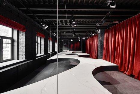 SuperSurfaceSpace Gallery der Gruppe Iris, Projekt Metrogramma, Moskau