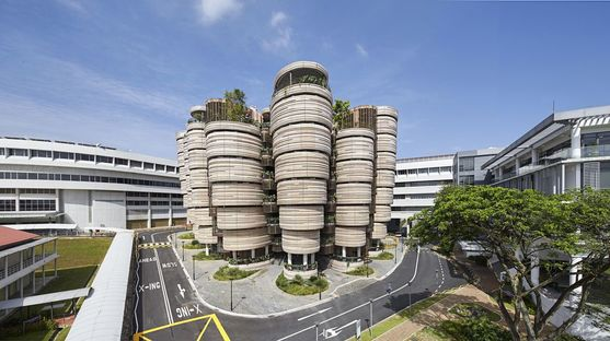 Heatherwick Learning Hub Nanyang Technological University Singapore