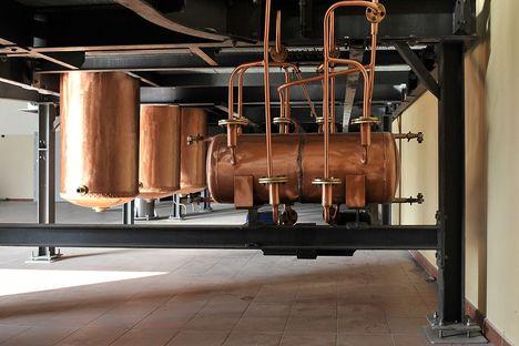 Destillerie Zanin Zugliano mit den Fußböden von FMG