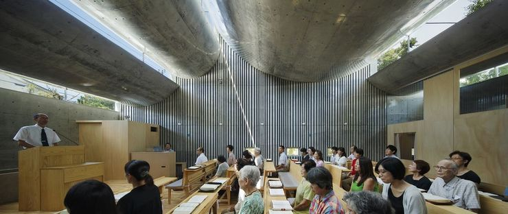 Takeshi Hosaka und die Shonan Christ Church in Fujisawa (Japan)