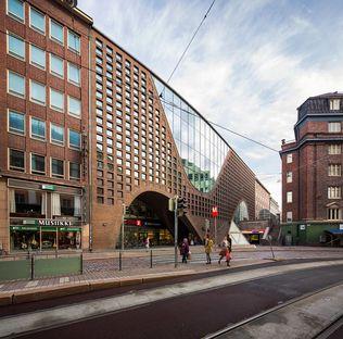 Anttinen Oiva und die Helsinki University Main Library (Kaisa House)