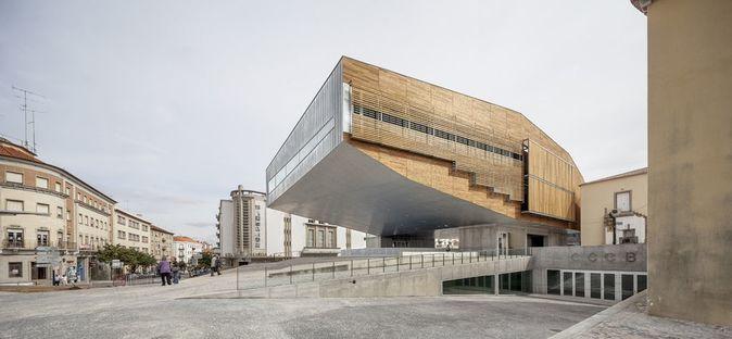 Mateo Arquitectura: Kulturzentrum in Castelo Branco, Portugal