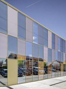 2b Architectes und die Büros Jolimont Nord in Mont-sur-Rolle