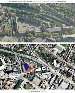 Jean Nouvel+MDW: Polizeipräsidium von Charleroi und Sitz von Charleroi Danses