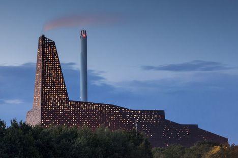 Erick van Egeraat und neue Müllverbrennungsanlage von Roskilde
