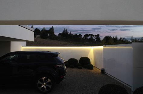 Architettura Matassoni und die Villa N in Arezzo (Italien)