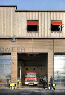 Bovenbouw: Neue Feuerwache in Berendrecht