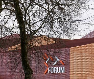 Manuelle Gautrand und das Forum in Saint-Louis, Elsass