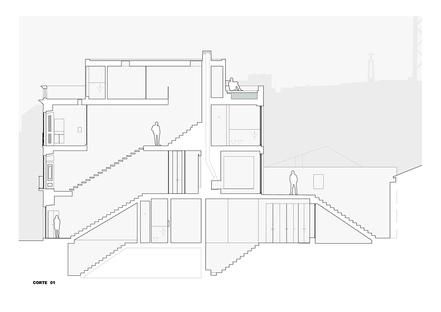 José Adrião Arquitetos: Casa dos prazeres in Lissabon