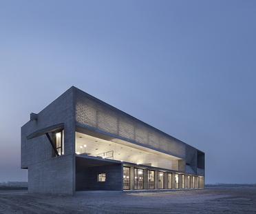 Vector Architects e la Seashore library sulla spiaggia in Cina