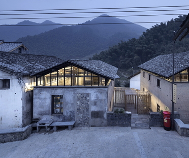 AZL Architects und die Librairie Avant-Garde Tonglu, China