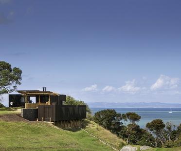 Herbst Architects: Castle Rock Beach House nördlich von Auckland