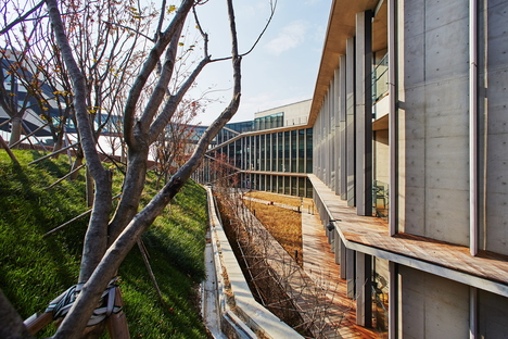 Kengo Kuma und das Institut Naver Connect One in Südkorea
