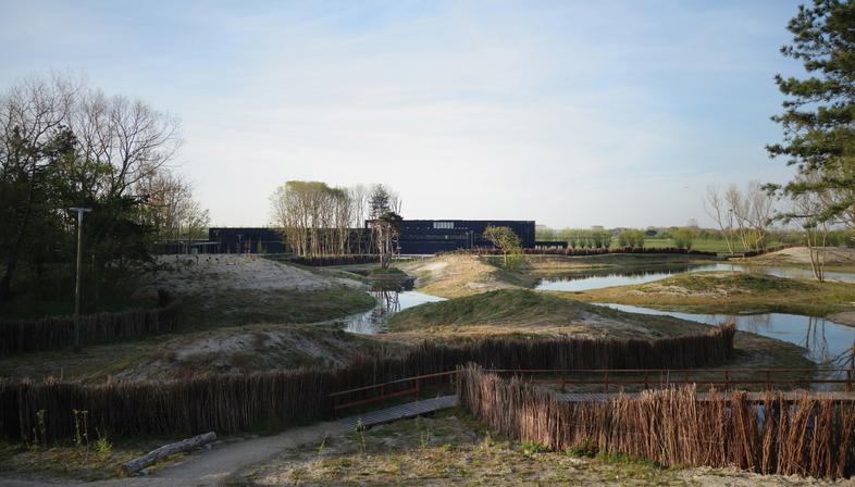 Coussée & Goris: Besucherzentrum des Naturparks von Zwin